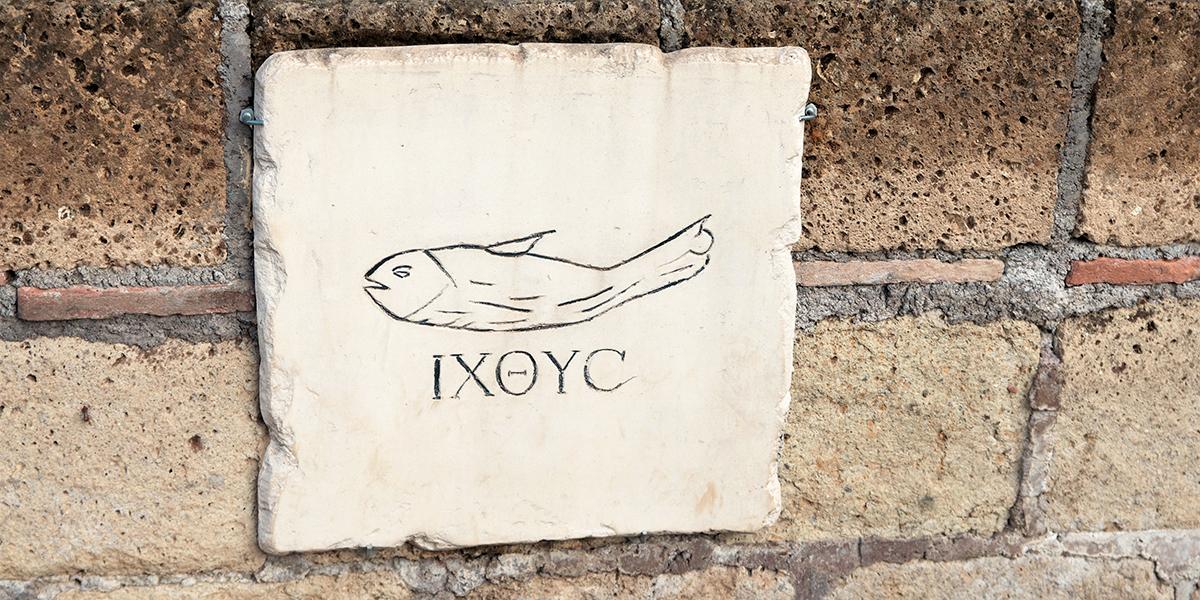 JESUS FISH SYMBOL CHRISTIAN