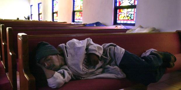 HOMELESS,CHURCH