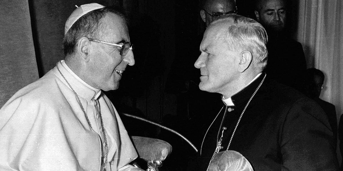 POPE JOHN PAUL I,SAINT JOHN PAUL THE GREAT