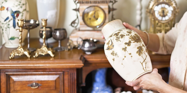 Holding Vase