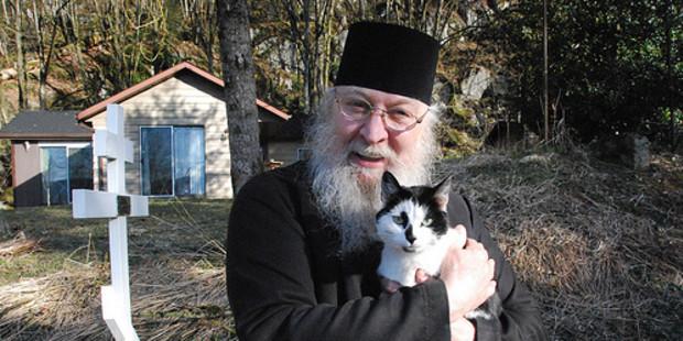 ARCHBISHOP LAZAR, MONASTERY CAT;