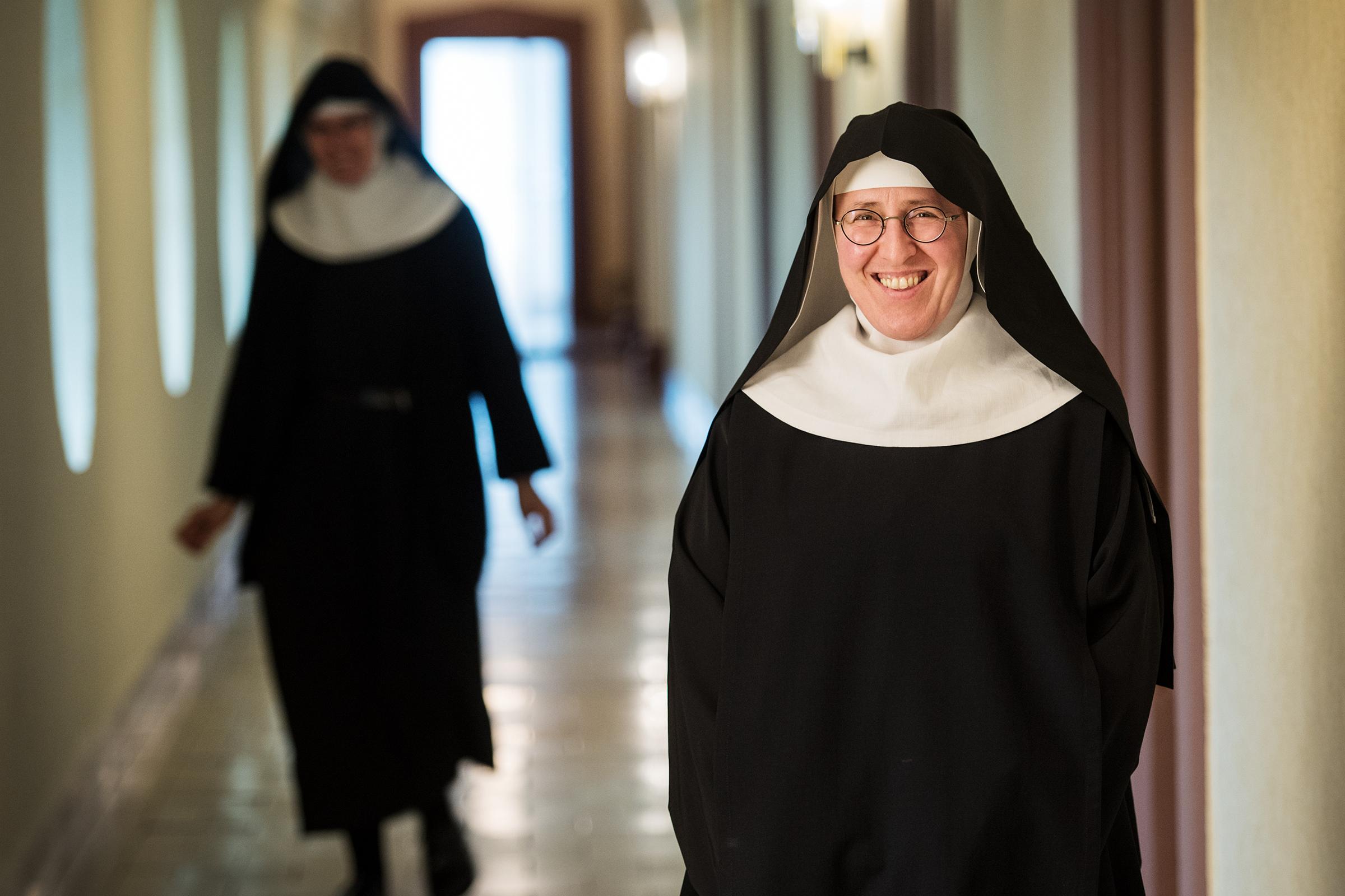 SISTER ANDREA STADERMAN FIREFIGHTER