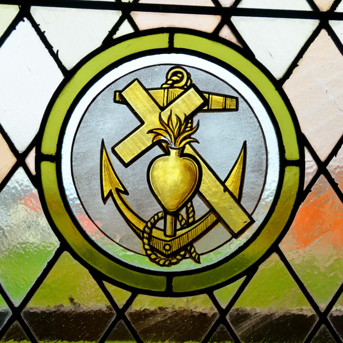 ANCHOR CROSS WINDOW