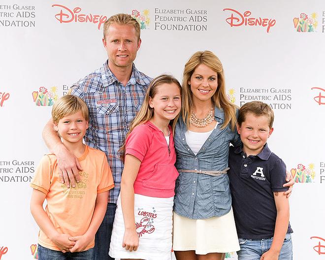 Candace Cameron Bure Family
