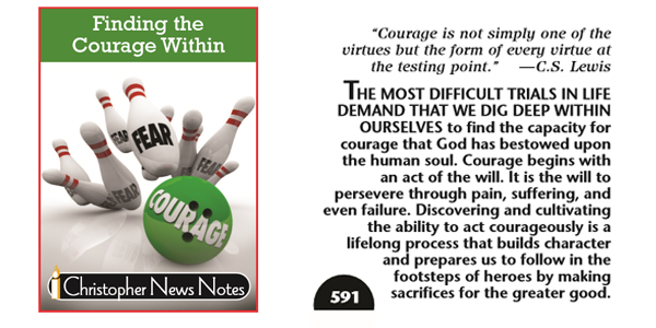 FINDING THE COURAGE WITHIN