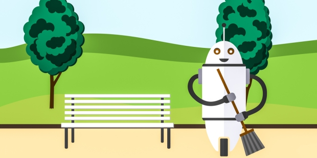 CLEANING ROBOT;PARK
