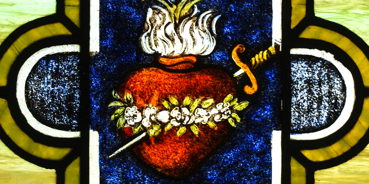 The symbolism behind Mary's Immaculate Heart