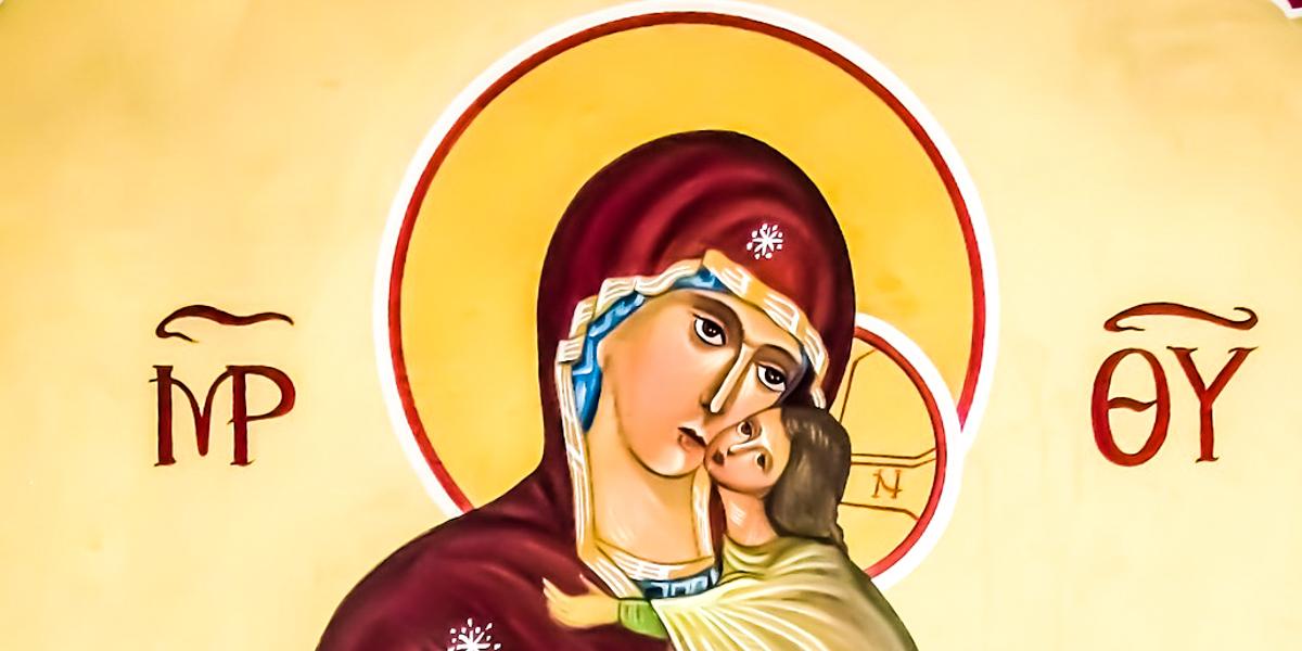 VIRGIN MARY WIHT CHILD JESUS
