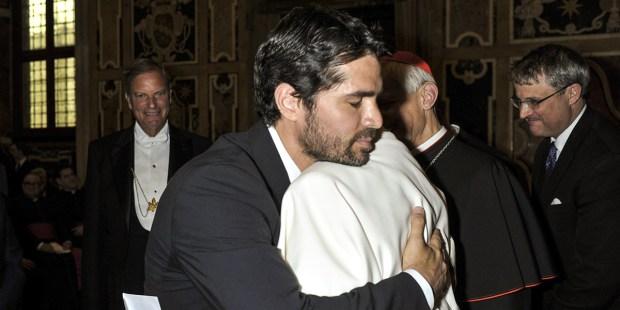 EDUARDO VERASTEGUI,POPE FRANCIS