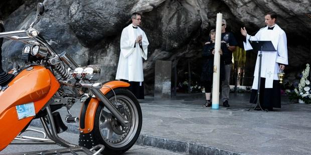 MOTORCYCLE PILGRIMAGE TO LOURDES