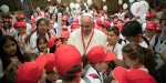 POPE FRANCIS;CHILDREN;EARTHQUAKE