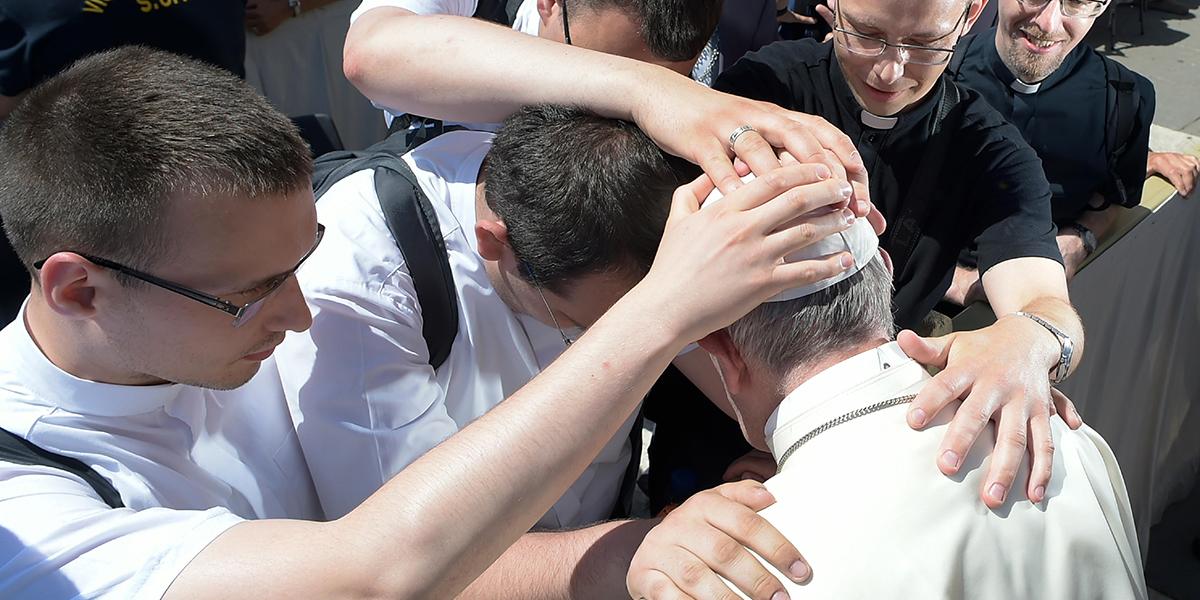 SEMINARIANS,POPE FRANCIS