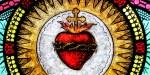 SACRED HEART OF JESUS,STAINGLASS