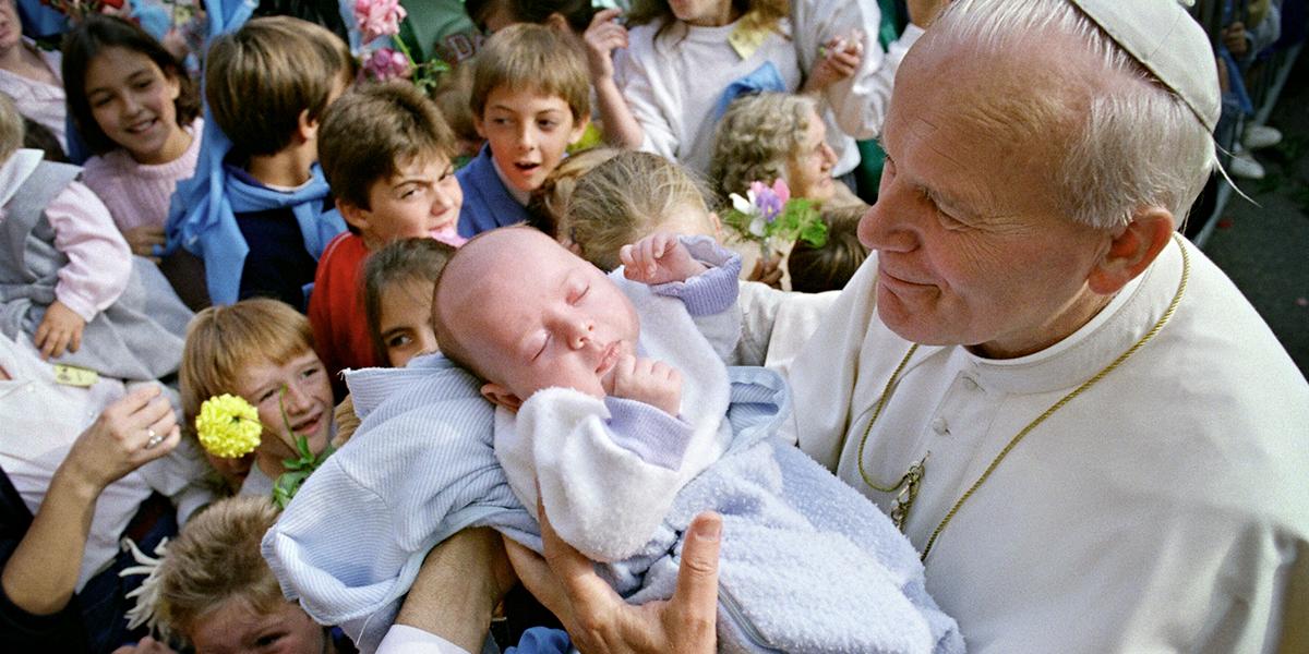SAINT JOHN PAUL THE GREAT,BABY