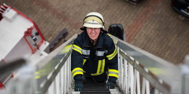 SISTER ANDREA STADERMAN FIREFIGHTER