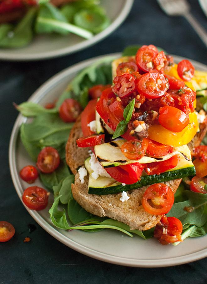 Tomato Zucchini