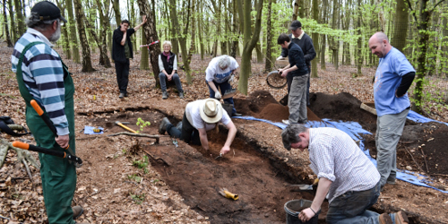 SHEERWOOD FOREST,ARCHAEOLOGY FIND
