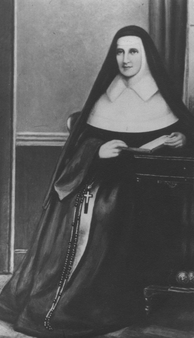 VENERABLE CATHERINE MCAULEY,SISTERS OF MERCY,FOUNDRESS