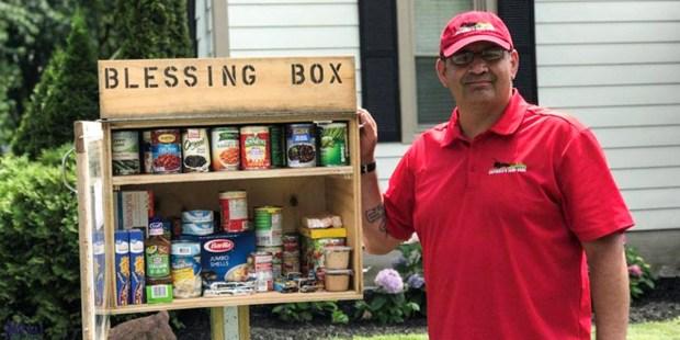 Blessing Box by Roman Espinoza