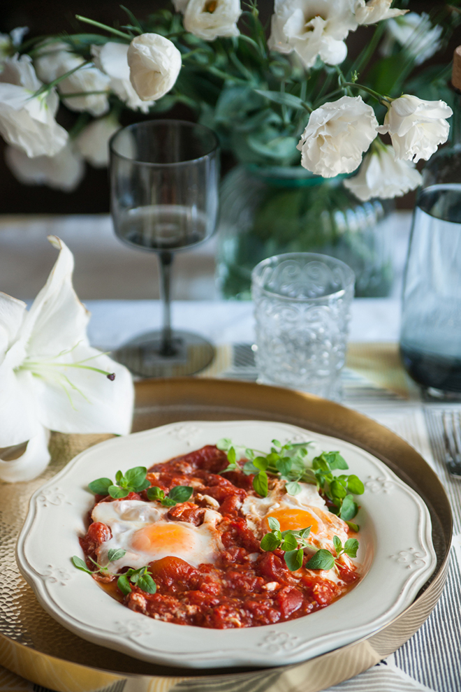 Tomatoes and Fresh Eggs