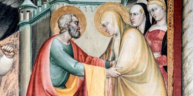 SAINT JOACHIM AND SAINT ANN