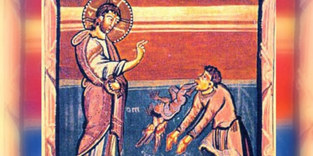JESUS AND THE GADARENE DEMONIAC,MIRACLE OF THE SWINE
