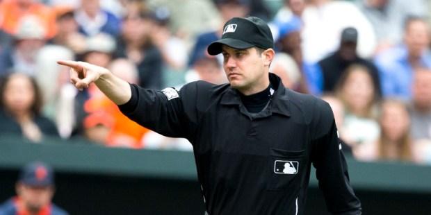 JOHN TUMPANE, MLB UMPIRE