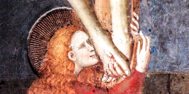 MARY MAGDALENE;FEET OF JESUS;CFROSS