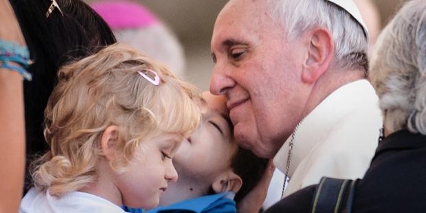 POPE FRANCIS,CHILD