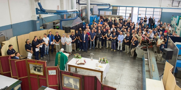 POPE FRANCIS MASS WORKERS