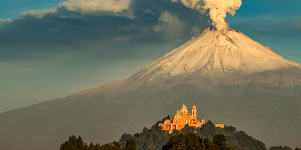 OUR LADY OF REMEDIES,VOLCANO