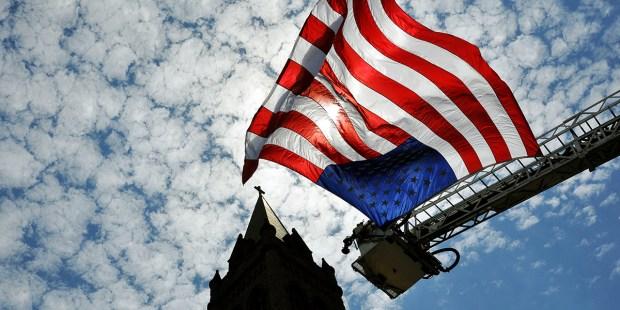 AMERCAN FLAG CHURCH