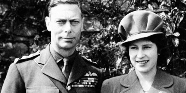 Princess Elizabeth and King George VI