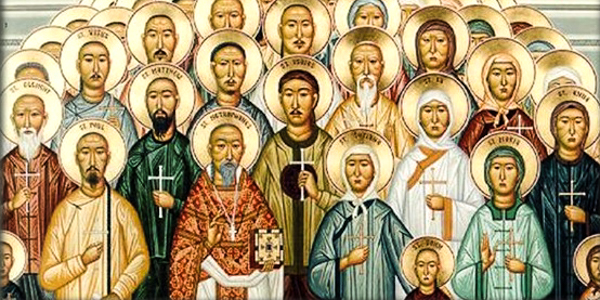 ASIAN MARTYRS ICON