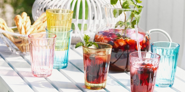 Sangria Drinks Outdoors