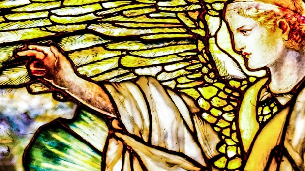 ANGEL IN STAINGLASS