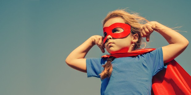 LITTLE GIRL,SUPERHERO