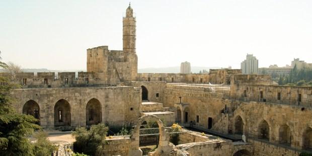TOWER OF DAVID MUSEUM,JERUSALEM