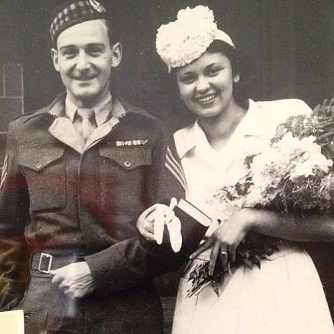 Edith Steiner and John Mackay