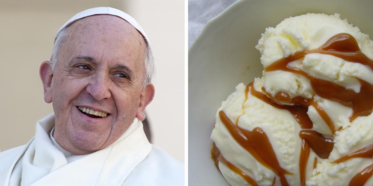 POPE FRANCIS,DULCE DE LECHE
