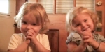 Adorable Twins say Prayer