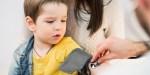 Boy Getting Blood Pressure Checked