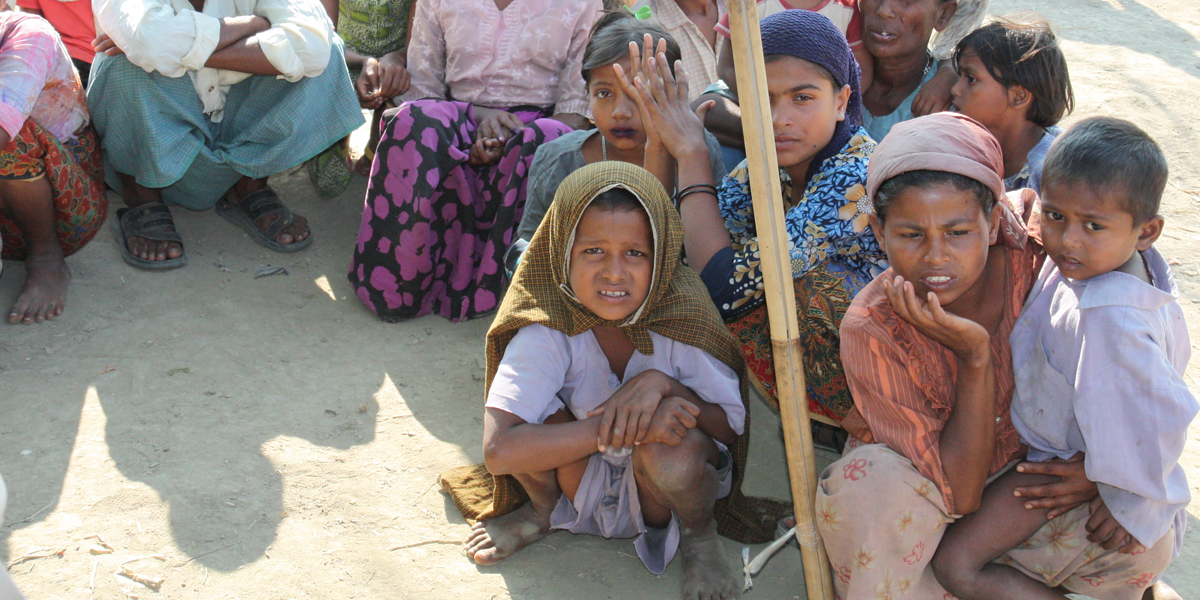 DISPLACED ROHINGYA MUSLIMS