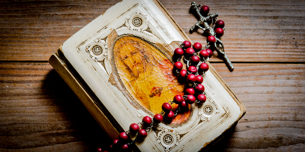 HOLY BIBLE,ROSARY