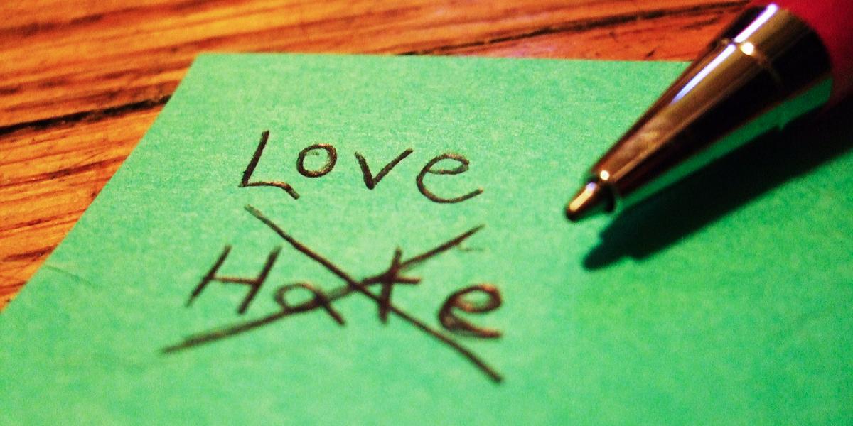 LOVE VS HATE NOTE