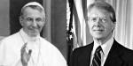 POPE JOHN PAUL I,PRESIDENT JIMMY CARTER