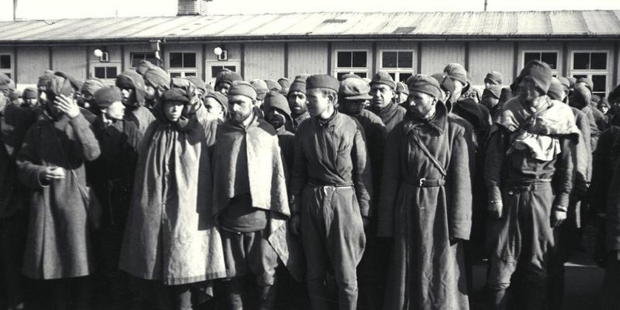 RUSSIAN,POW,CONCENTRATION CAMPS