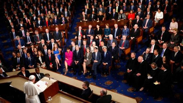 POPE FRANCIS USA SENATE