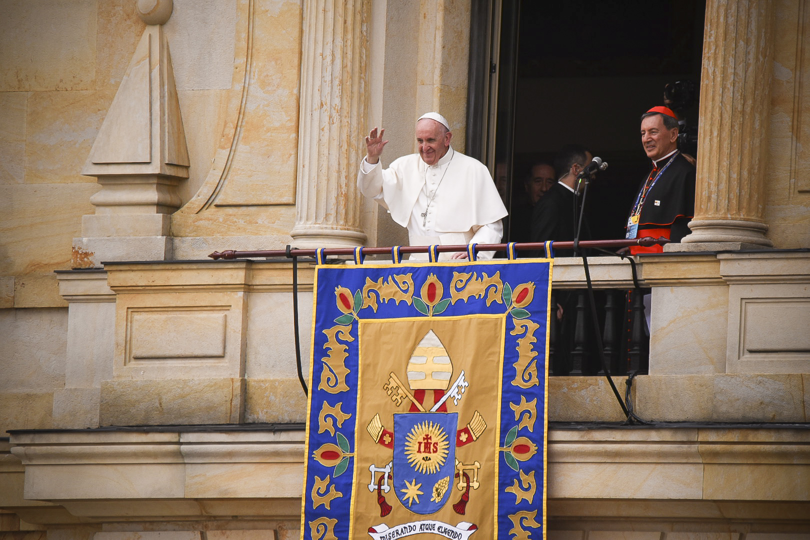 POPE FRANCIS,ARCHIEPISCOPAL PALACE