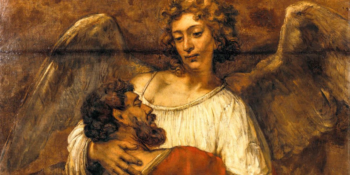 ANGEL WITH JACOB